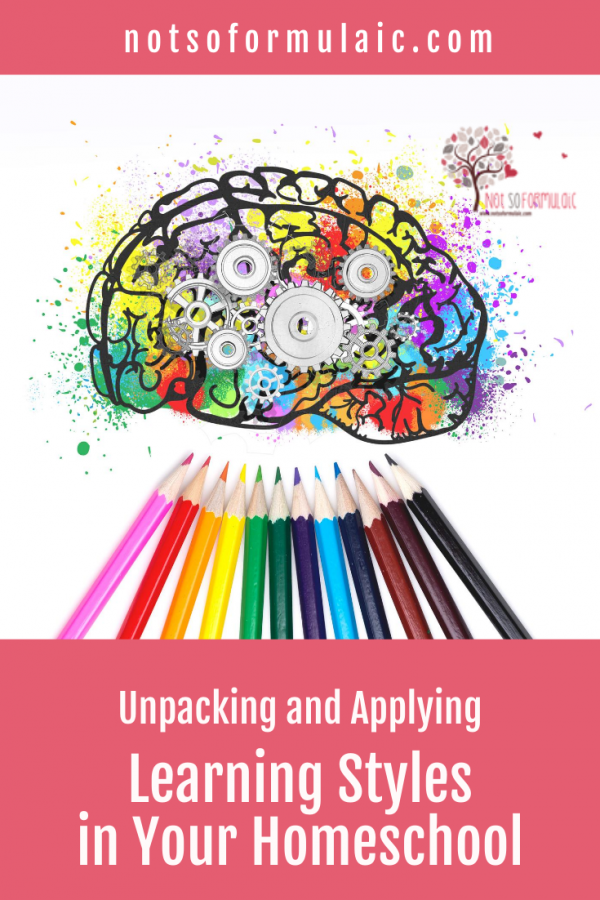 Unpacking And Applying Learning Styles