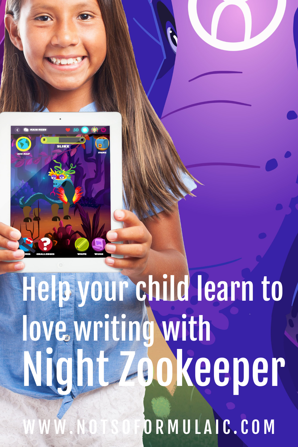 Night Zookeeper Pin - Night Zookeeper: Writing Enrichment For Differently-wired Kids - Gifted/2e Education