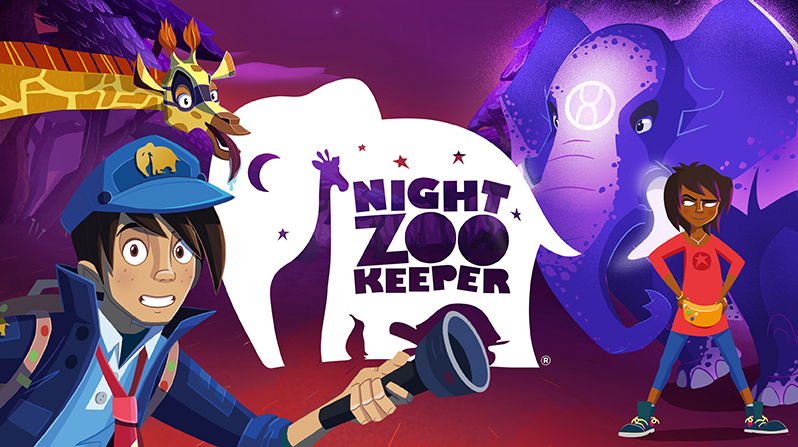 Nzklogo 1 - Night Zookeeper: Writing Enrichment For Differently-wired Kids - Gifted/2e Education