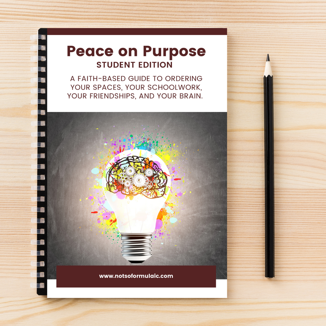 Peace On Purpose Se Promo Image - Peace On Purpose: Student Edition (catholic Executive Function Course)